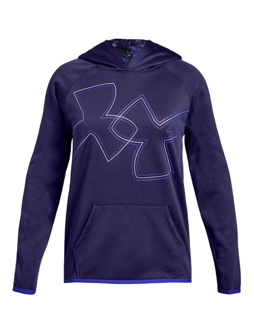 b53396d9c This review is fromGirls' Armour Fleece® Dual Logo Hoodie.