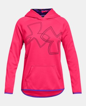 423b53c63 Girls' Armour Fleece® Dual Logo Hoodie 2 Colors Available $40