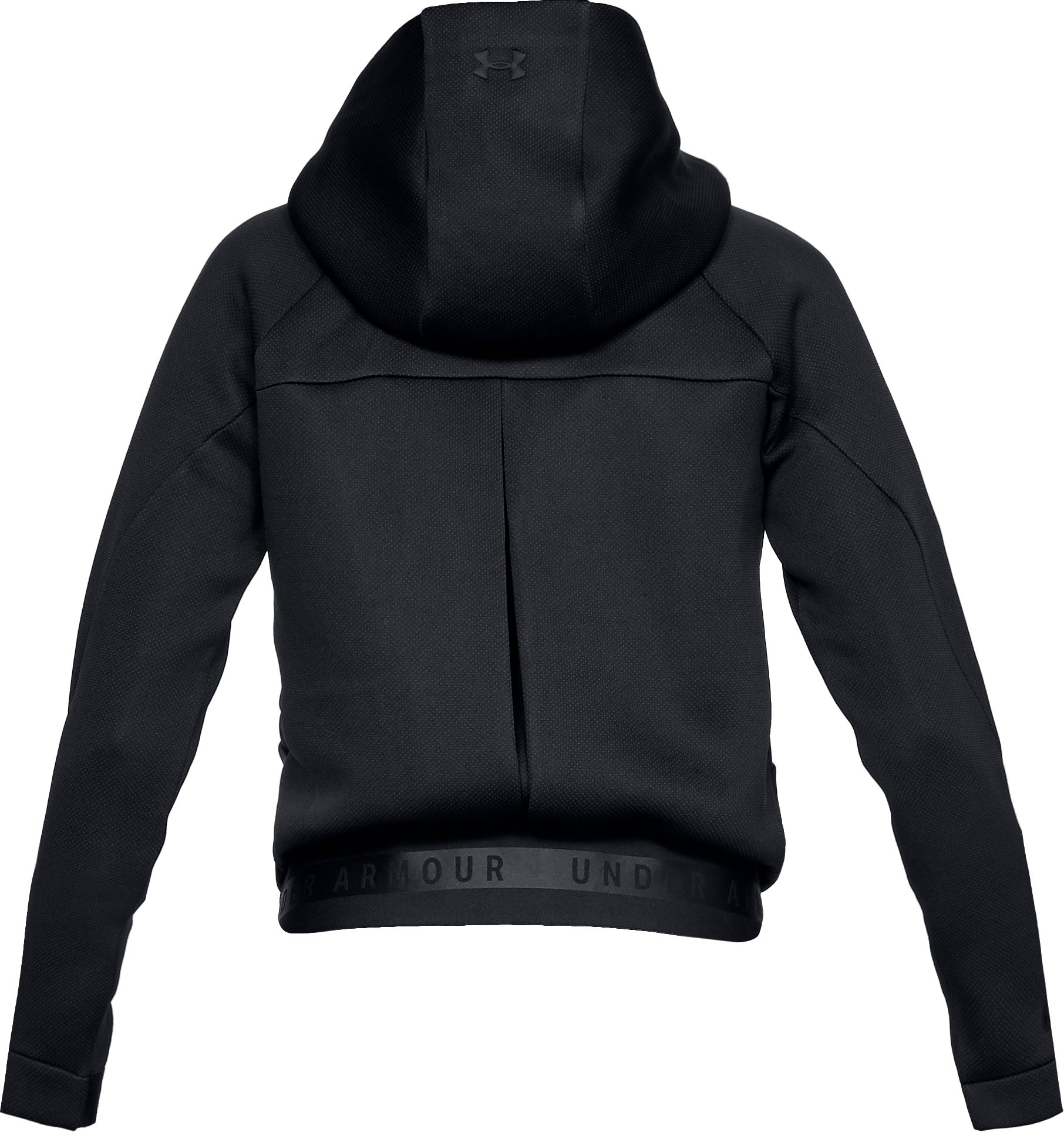 Women's UA Unstoppable /MOVE Full Zip, Black ,