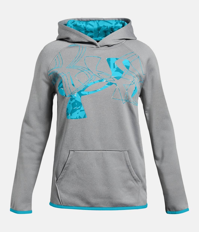 Girls Armour Fleece174 Print Logo Hoodie Under Armour USUnder Armour Sweatshirts For Girls