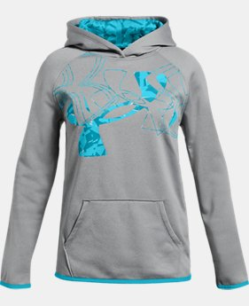 Girls' Armour Fleece® Big Logo Hoodie LIMITED TIME ONLY 5  Colors Available $28