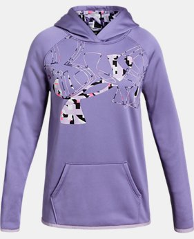 Girls' Armour Fleece® Big Logo Hoodie LIMITED TIME ONLY 4  Colors Available $37.5