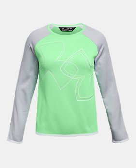 00283f3229 Girls' Green Outlet Tops | Under Armour US