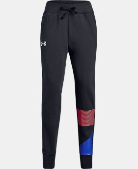 Girls' UA Rival Fleece Joggers  2  Colors Available $40