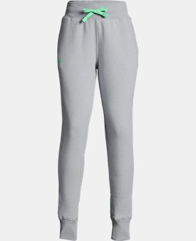 Girls' UA Microthread Fleece Joggers 30% OFF ENDS 11/26 2  Colors Available $29.99