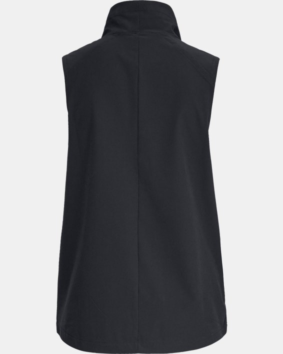 Women's UA Storm Woven Vest, Black, pdpMainDesktop image number 4