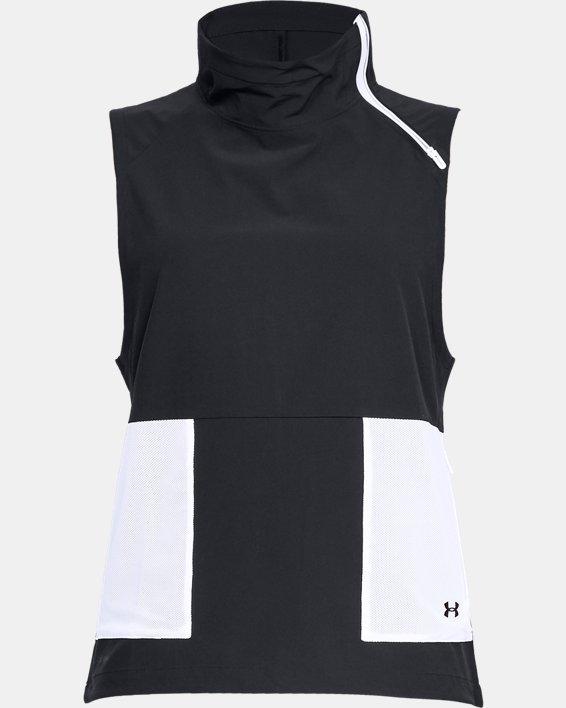 Women's UA Storm Woven Vest, Black, pdpMainDesktop image number 3