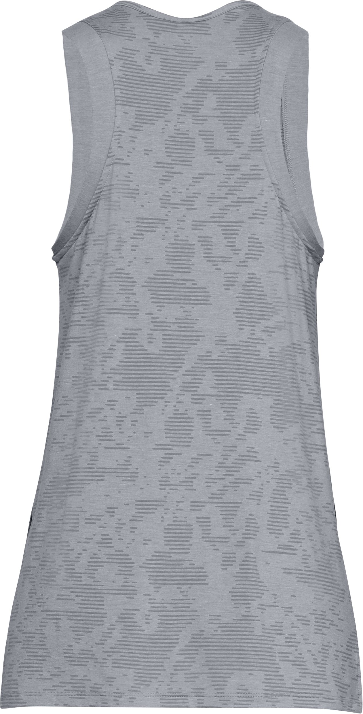 Women's UA Essentials Tunic, STEEL MEDIUM HEATHER,