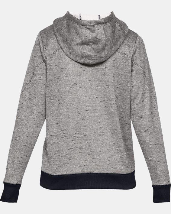 Women's Armour Fleece® Big Logo Hoodie, Black, pdpMainDesktop image number 4