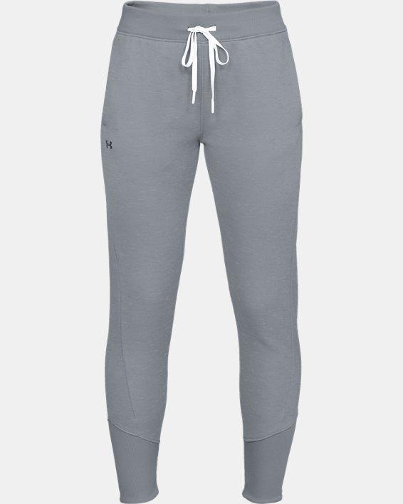 Women's Armour Fleece® Pants, Gray, pdpMainDesktop image number 3