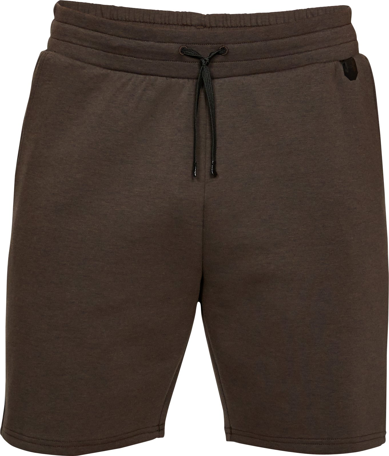 Men's UA Unstoppable Knit Shorts, CHESTNUT BROWN,
