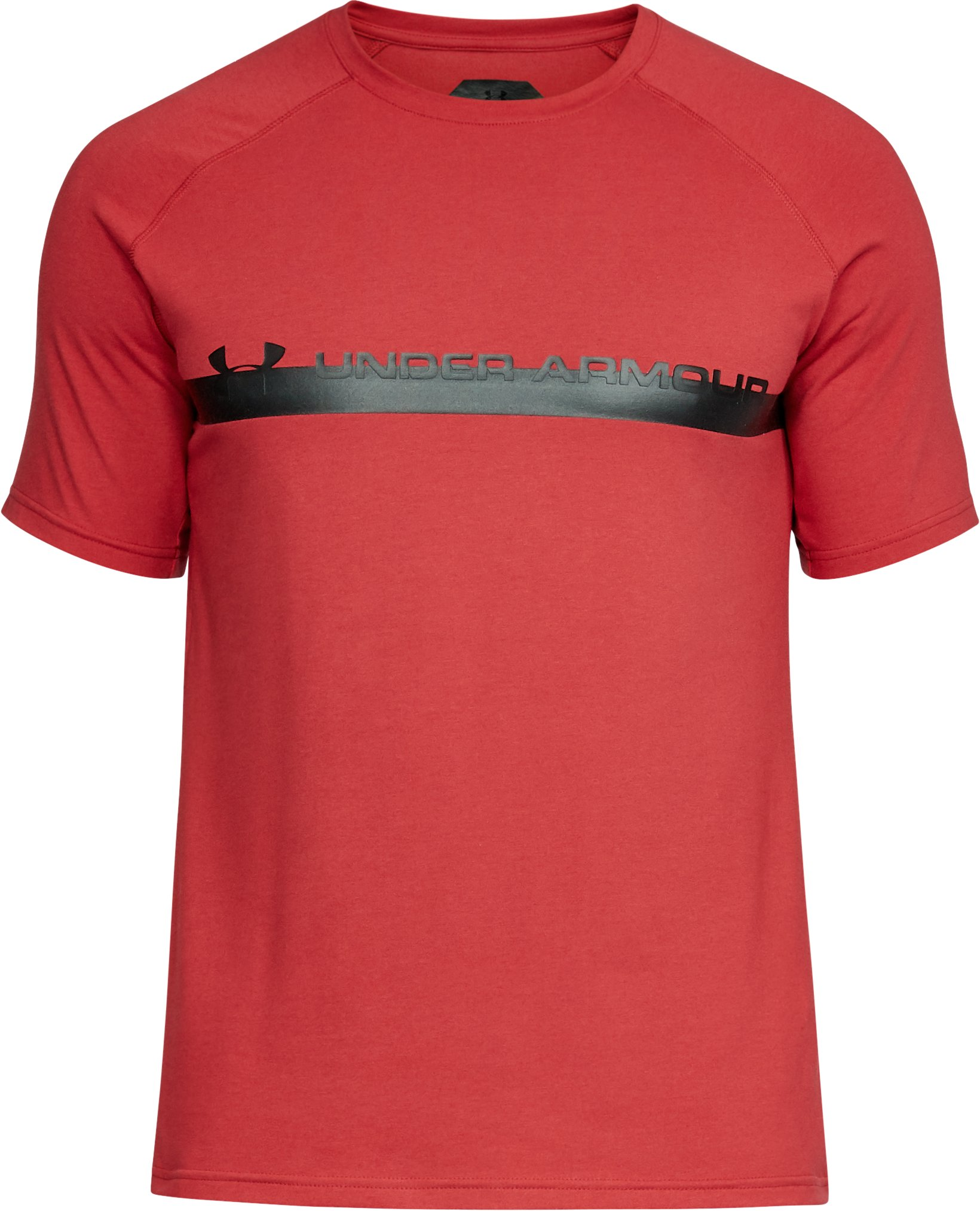 Men's UA Unstoppable Graphic T-Shirt, Cherry Red,