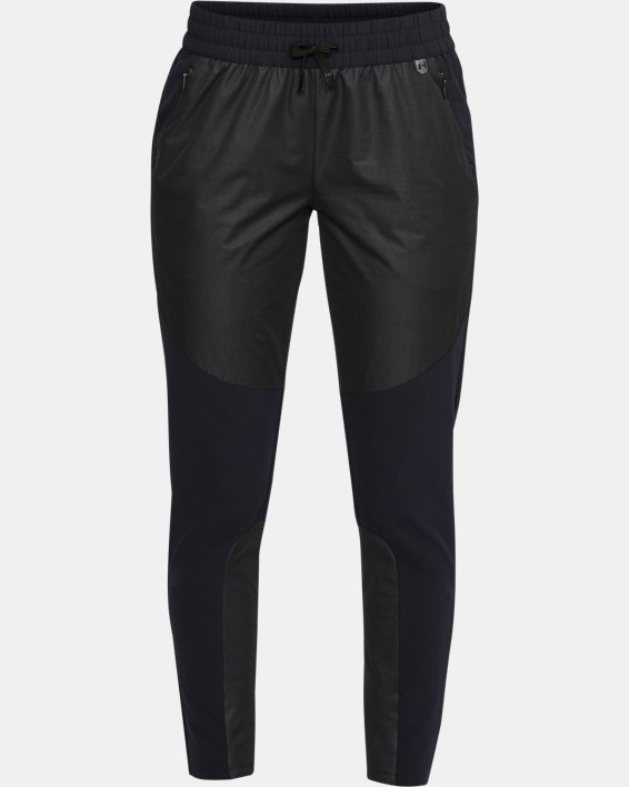 Women's UA Unstoppable GORE® WINDSTOPPER® Pants, Gray, pdpMainDesktop image number 3