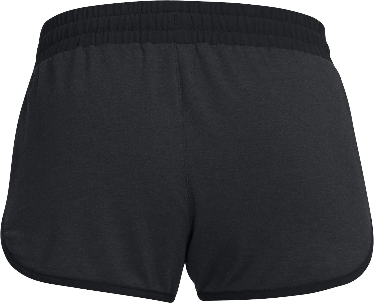Women's UA Unstoppable Knit Shorts, Black , undefined