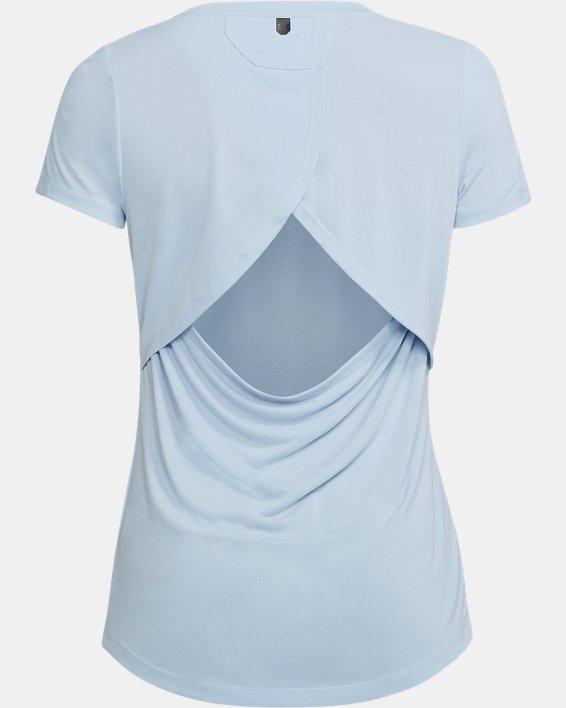 Women's UA Unstoppable Graphic T-Shirt, Blue, pdpMainDesktop image number 4