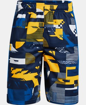 Boys' UA Baseline Shorts  4  Colors Available $30