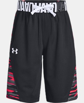 Girls UA Hoops Shorts  1  Color Available $35