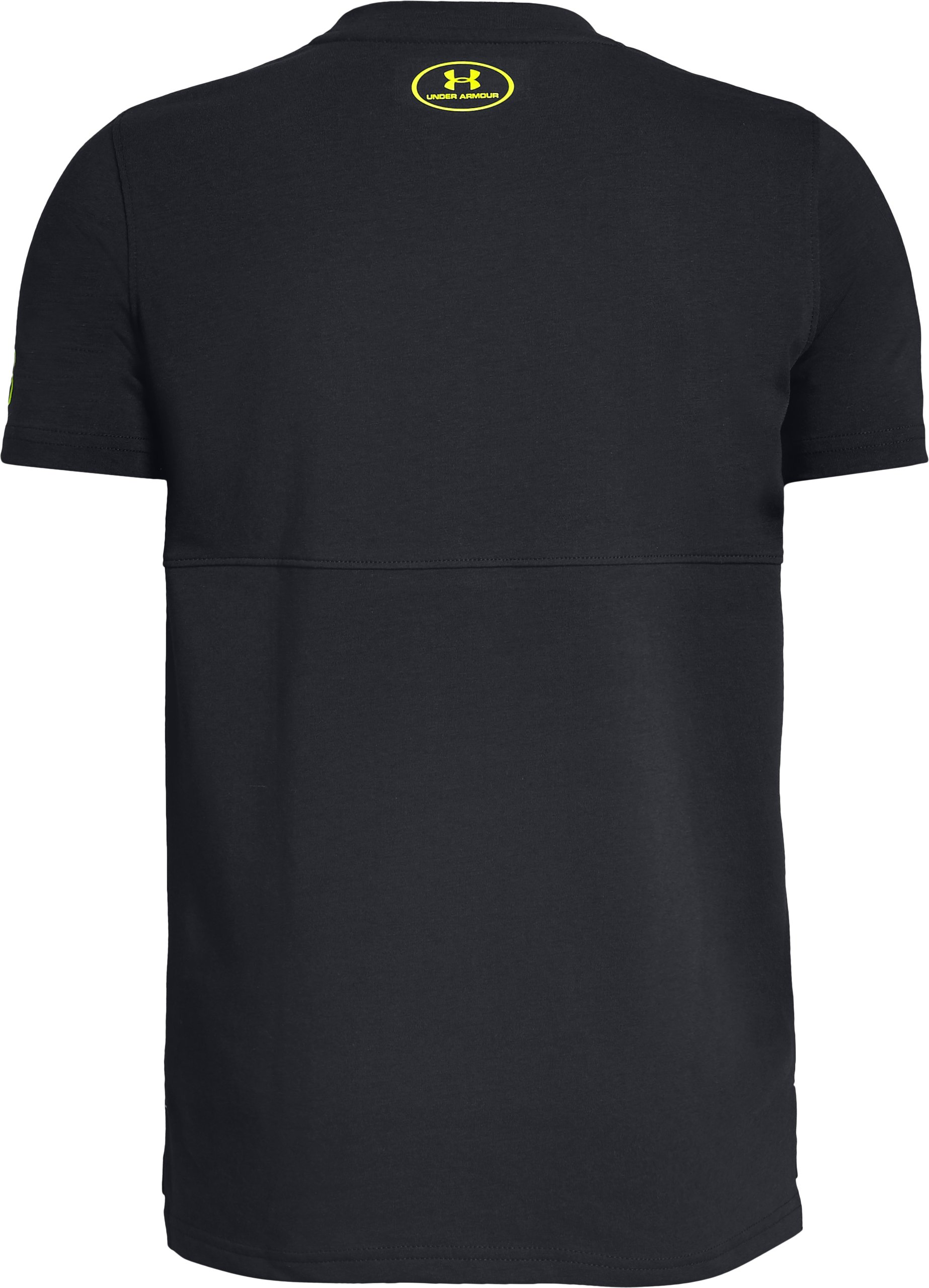 Boys' SC30 Long Line T-Shirt, Black ,