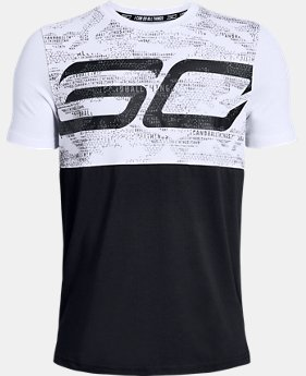 Boys' SC30 Long Line T-Shirt  1  Color Available $30