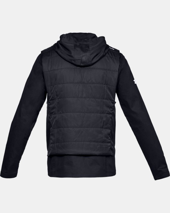 Men's UA Accelerate Transport Jacket, Black, pdpMainDesktop image number 5
