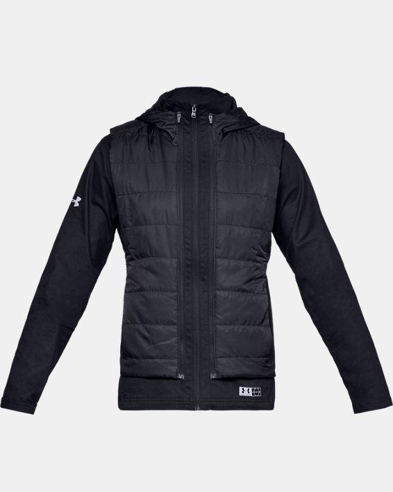 Men's UA Accelerate Transport Jacket, Black, pdpMainDesktop image number 4