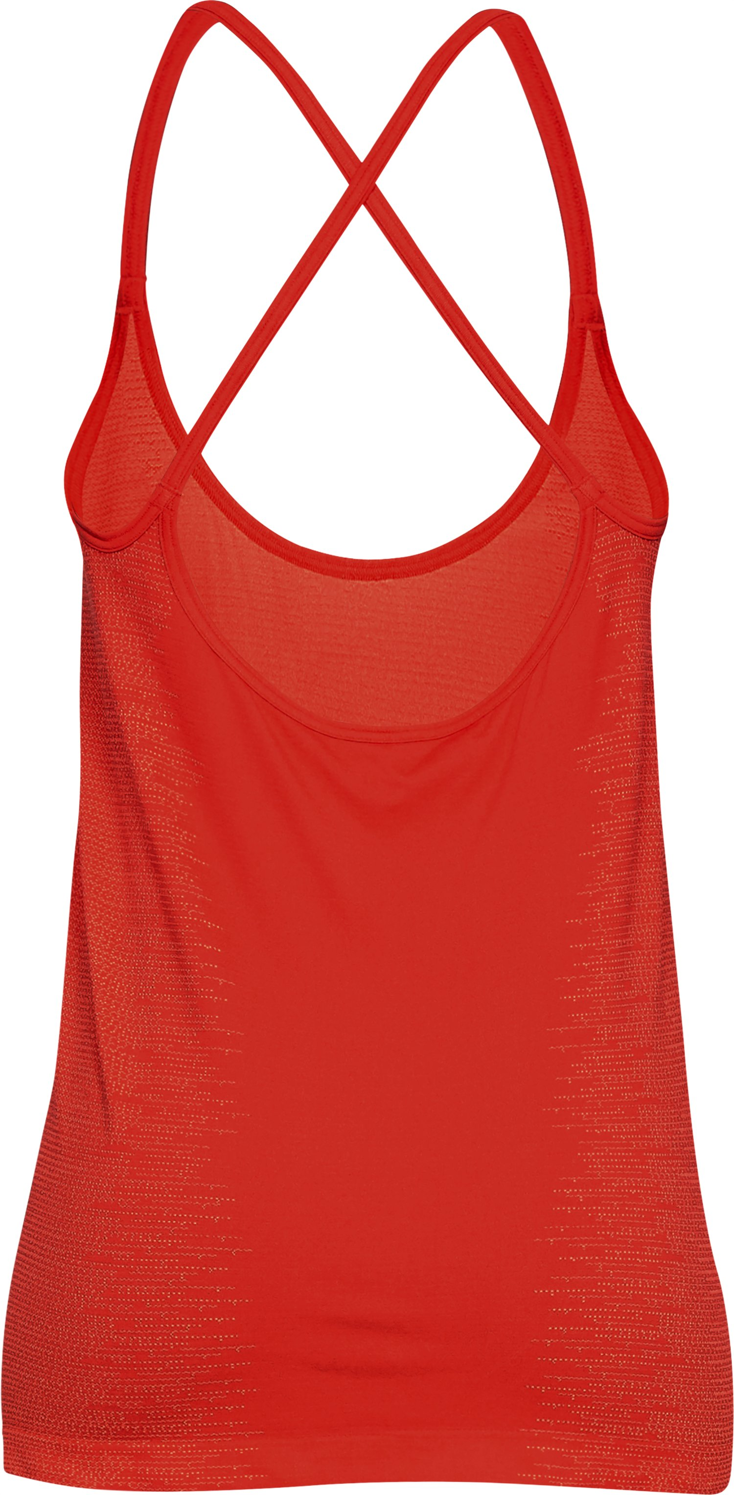 Women's UA Vanish Seamless Strappy Tank, RADIO RED,