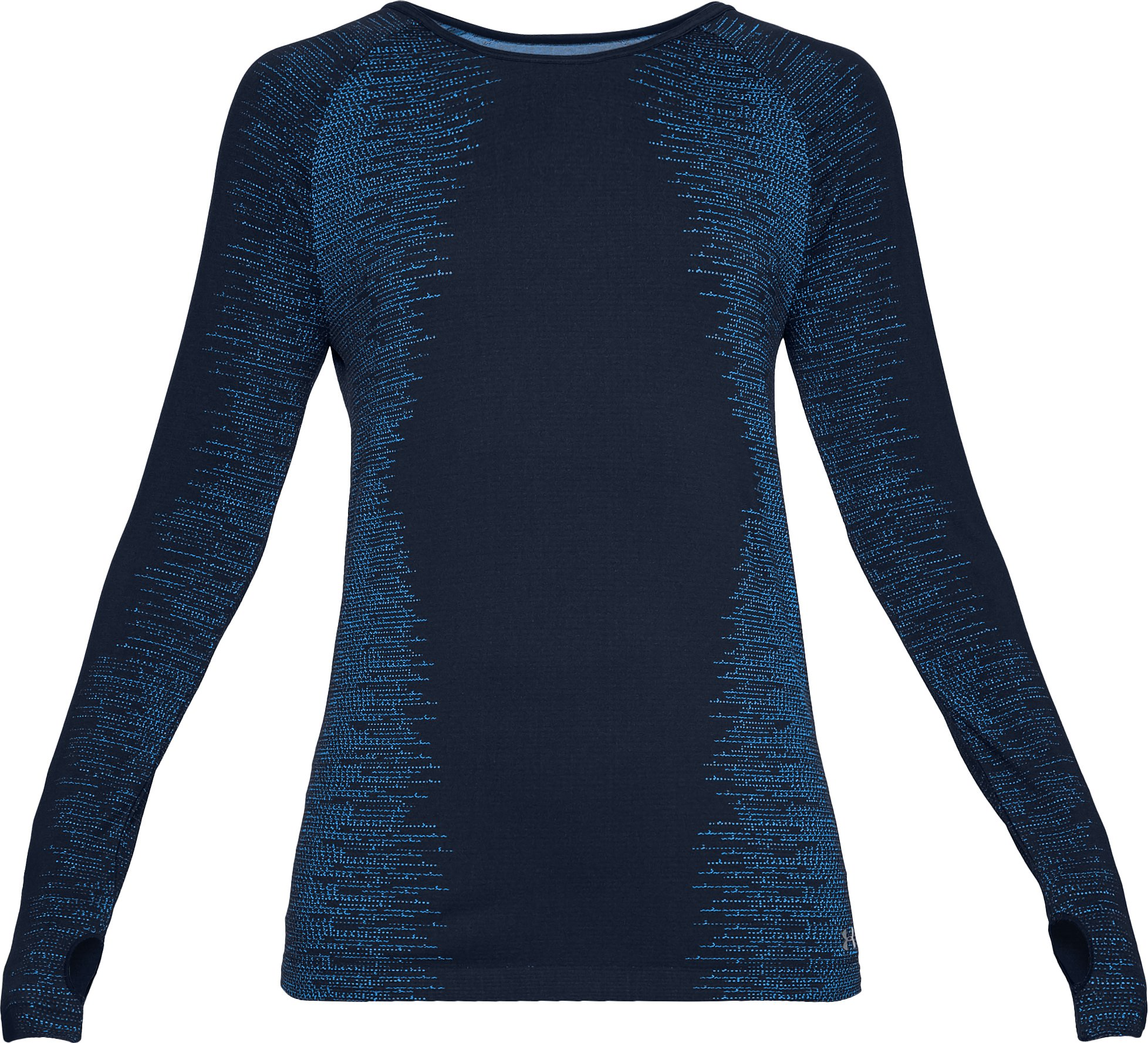 Women's UA Vanish Seamless Long Sleeve, Academy,