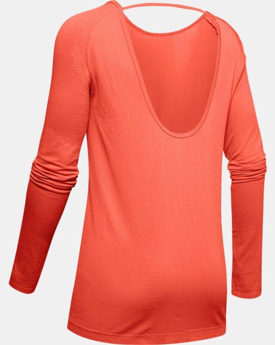 Women's UA Vanish Seamless Long Sleeve, Red, pdpMainDesktop image number 5