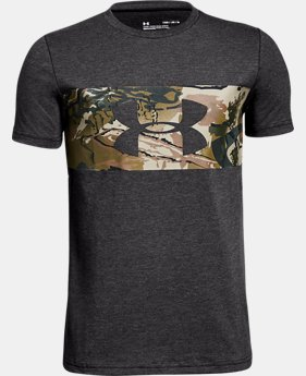 Boys' UA Branded Camo T-Shirt  3  Colors Available $20