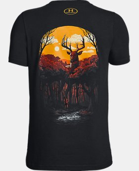 New Arrival Boys' UA Monster Whitetail T-Shirt  1  Color Available $20