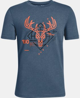 Boys' UA Heads Up Whitetail T-Shirt  1  Color Available $20