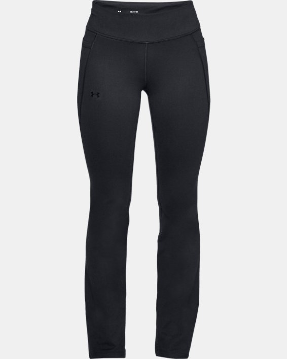 Women's UA All Around Modern Boot Pants, Black, pdpMainDesktop image number 4