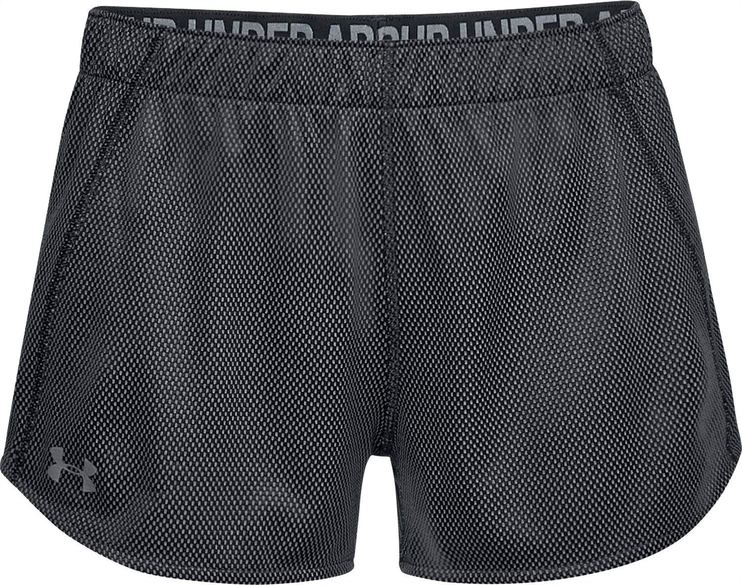 Women's UA Play Up 2.0 Reversible Shorts, Black ,
