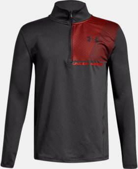 New Arrival  Boys' UA Raid ¼ Zip  1  Color Available $40