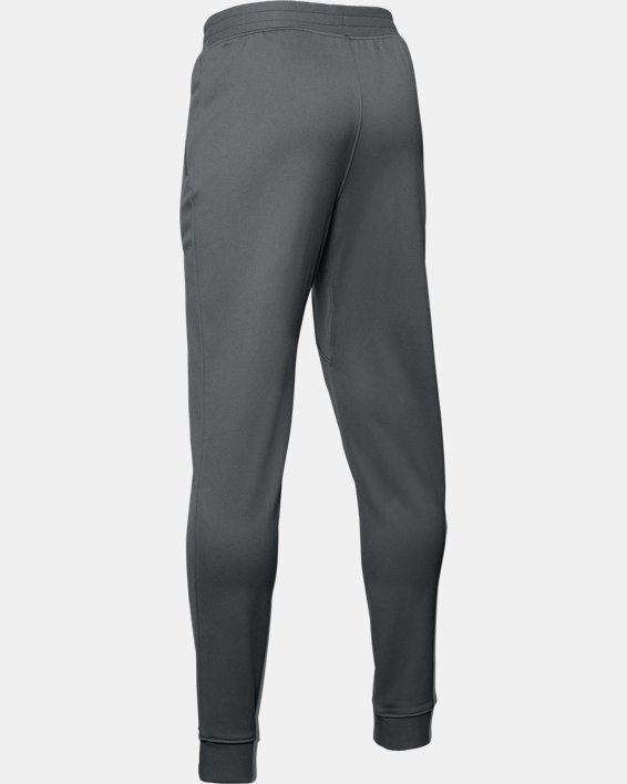 Boys' UA Pennant Pants, Gray, pdpMainDesktop image number 1