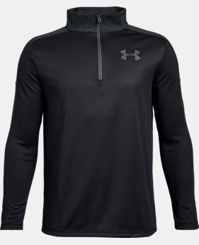Boys' UA Tech™ ¼ Zip  5  Colors Available $26.25 to $35