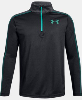 New Arrival  Boys' UA Tech™ ¼ Zip  3  Colors Available $40