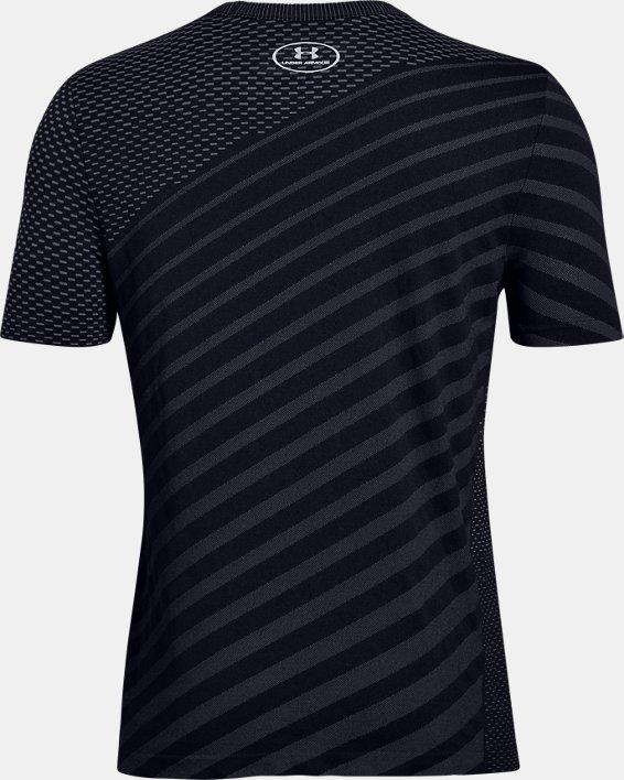 T-shirt UA Seamless pour garçon, Black, pdpMainDesktop image number 1