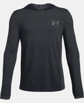 Boys' UA Seamless Hoodie  2  Colors Available $35