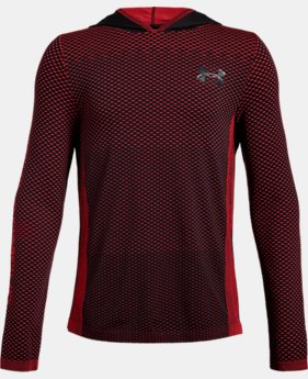 Boys' UA Seamless Hoodie  1  Color Available $35