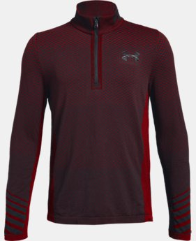 Boys' UA Seamless ¼ Zip  1  Color Available $35