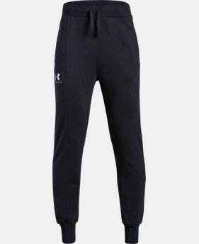 Boys' UA Rival Blocked Joggers 30% OFF ENDS 11/26 5  Colors Available $28