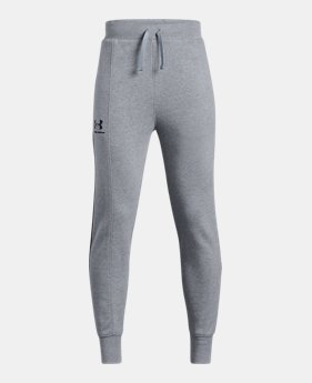 f5cca55d32c8d New to Outlet Boys' UA Rival Blocked Joggers 2 Colors Available $30.99