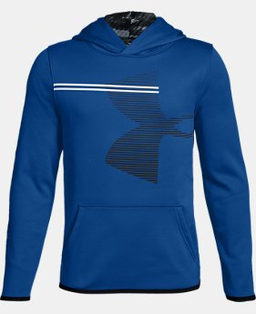 Boys' Armour Fleece® Hoodie  2  Colors Available $40