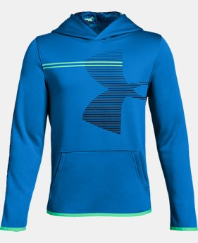 Boys' Armour Fleece® Hoodie LIMITED TIME ONLY 9  Colors Available $35