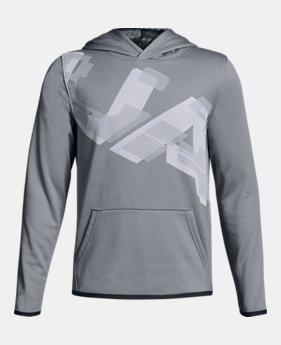 Boys  Armour Fleece® Highlight Printed Hoodie 2 Colors Available  37.99 e40a870e2855a