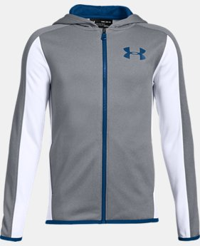 New Arrival  Boys' Armour Fleece® Full Zip  2  Colors Available $60