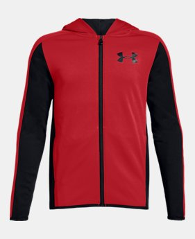 3c91705c3 Best Seller Boys' Armour Fleece® Full Zip 3 Colors Available $45