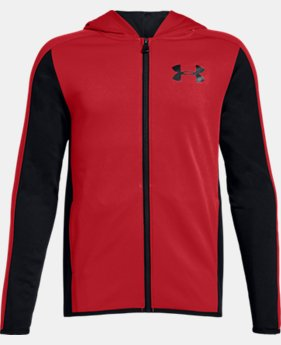 Boys' Armour Fleece® Full Zip  1  Color Available $45