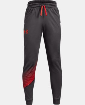 Boys' Armour Fleece® Joggers LIMITED TIME ONLY 2  Colors Available $35